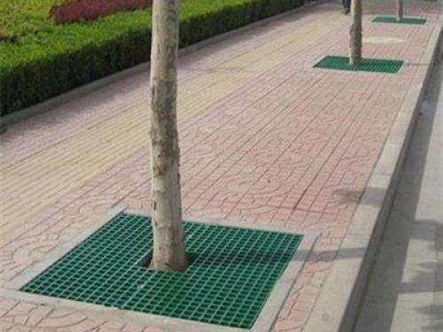 树池盖板安装案例